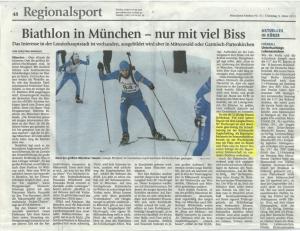 Biathlon in München