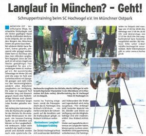 Langlaufen in München