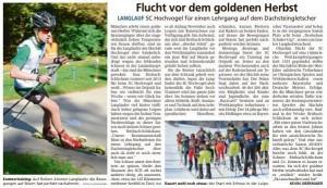 Münchner Merkur 23.10.2018