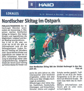 Nordischer Skitag im Ostpark